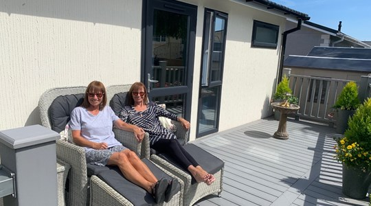 Sisters celebrate a year at Reculver Court